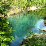 Going to the Enchanted River, Hinatuan, Surigao del Sur