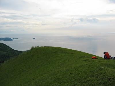 Sombrero Island from Mt. Gulugod Baboy