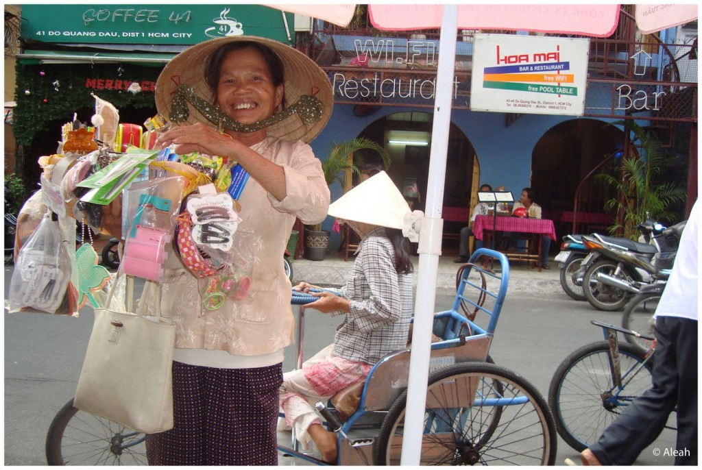 Saigon vendor