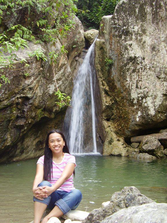 Talipanan Falls in Puerto Galera