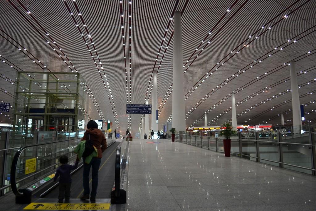 Beijing, China's Terminal 3