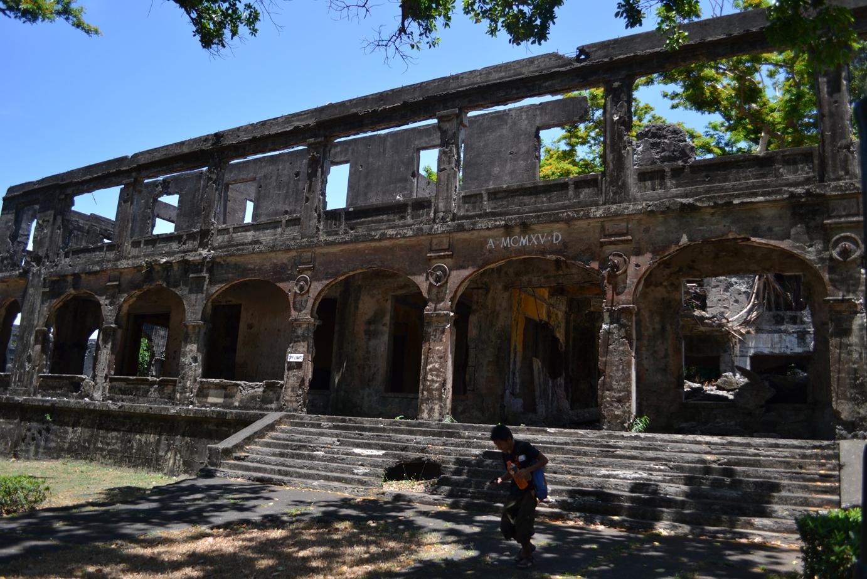 Ruins in Corregidor