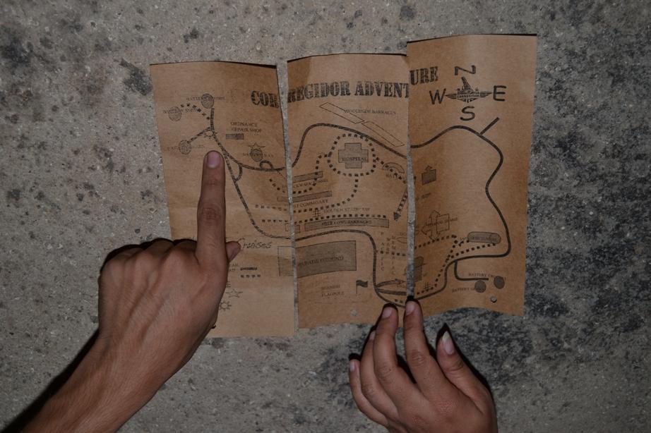 Map of Corregidor