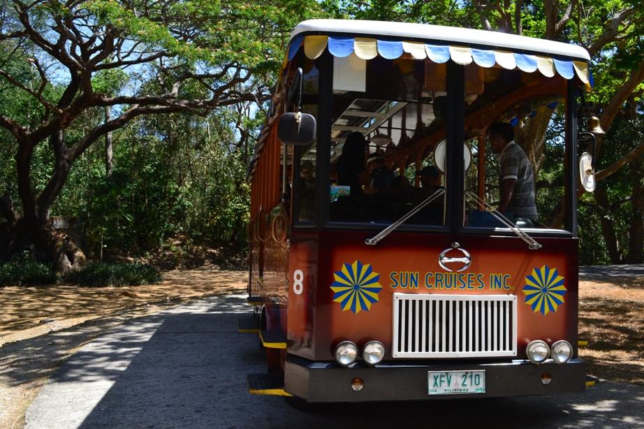 Sun Cruises Tram