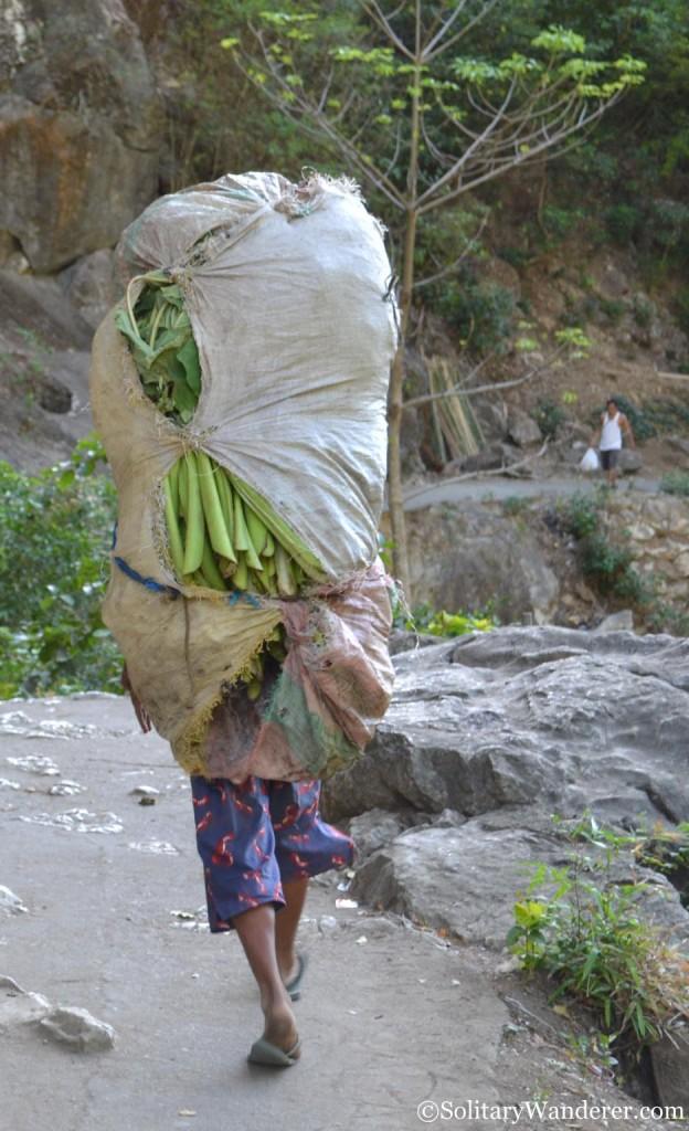Worker in Wawa Dam