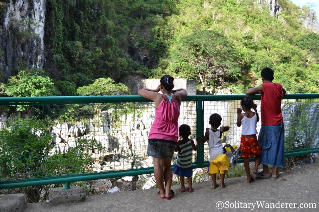 Family in Wawa Dam
