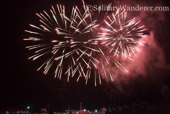 fireworks in Dumaguete