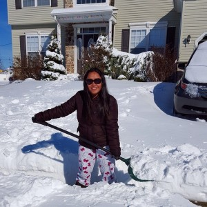 Spent five hours shoveling kneedeep snow Heres hoping we donthellip