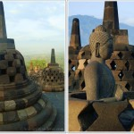 Borobudur, the Biggest Buddhist Temple in the World