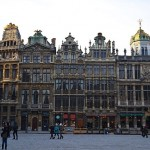 One Cold Day in the Grand Place, Brussels