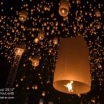 Yi Peng, the Floating Lantern Festival of Chiang Mai