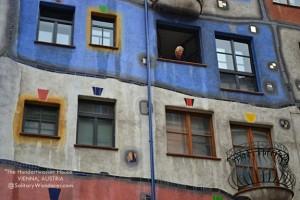 The Hundertwasser House in Vienna