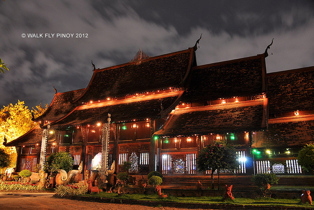 lanna-architecture chiang mai thailand