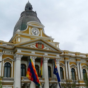 This is the Bolivian Congress Building in La Paz Ithellip