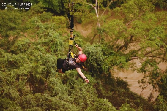 The Plunge In Danao Adventure Park Bohol - Take the plunge 8 best places in the world to bungee jump
