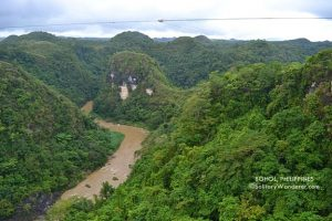 Taking The Plunge in Danao, Bohol