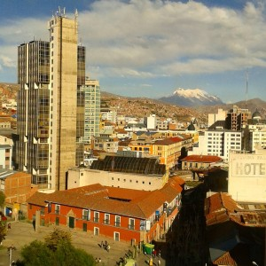 My hostel in La Paz has this beautiful view ofhellip