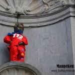 Manneken Pis in Brussels, Belgium