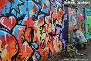 Exploring Freetown Christiania in Copenhagen