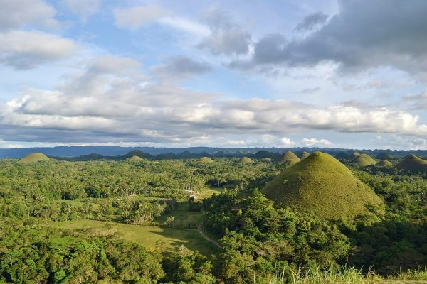 bohol tourist spots - chocolate hills