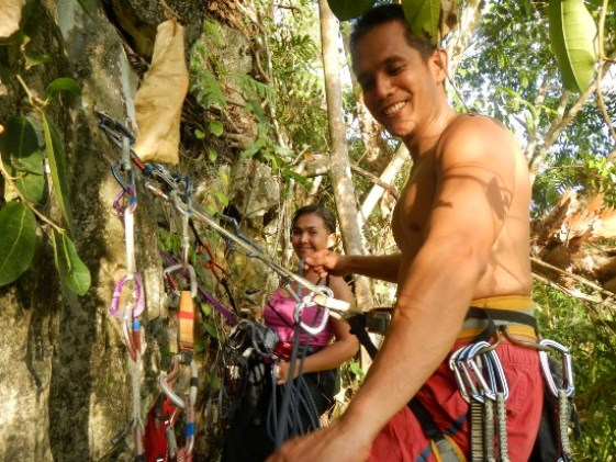 Multi-pitch Climbing Cantabaco Cebu
