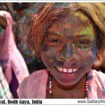 Celebrating Holi Festival with Kids in Bodh Gaya