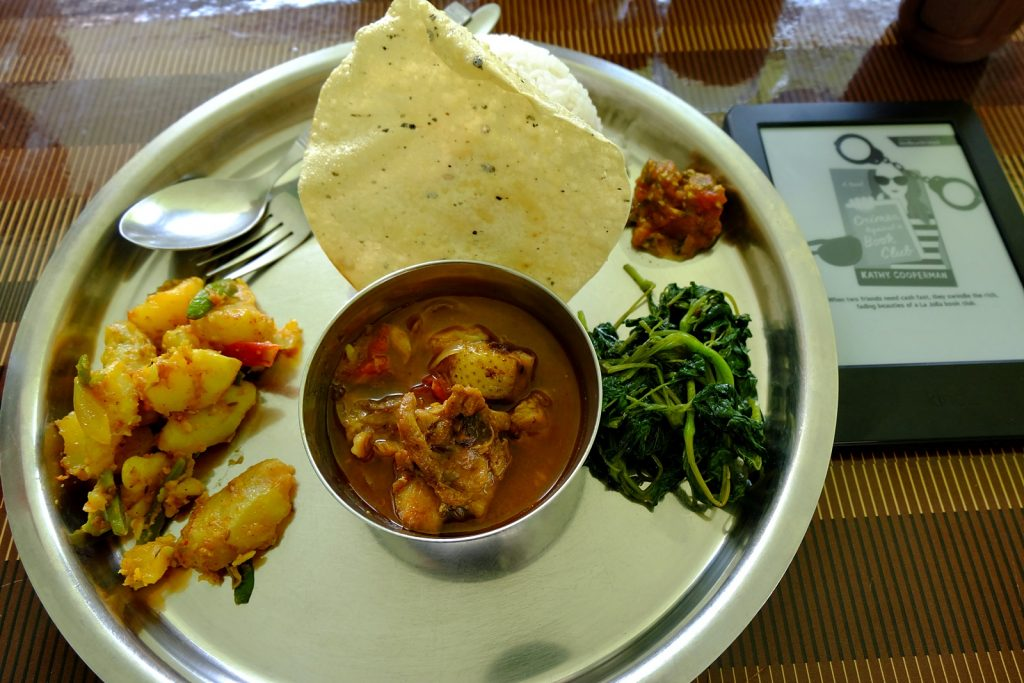 nepal food dhal bat