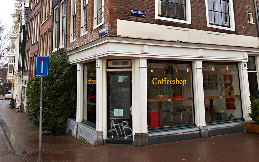 coffee shop amsterdam