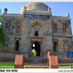 Snapshot Sunday–Sheesh Gumbad in the Lodhi Gardens, New Delhi