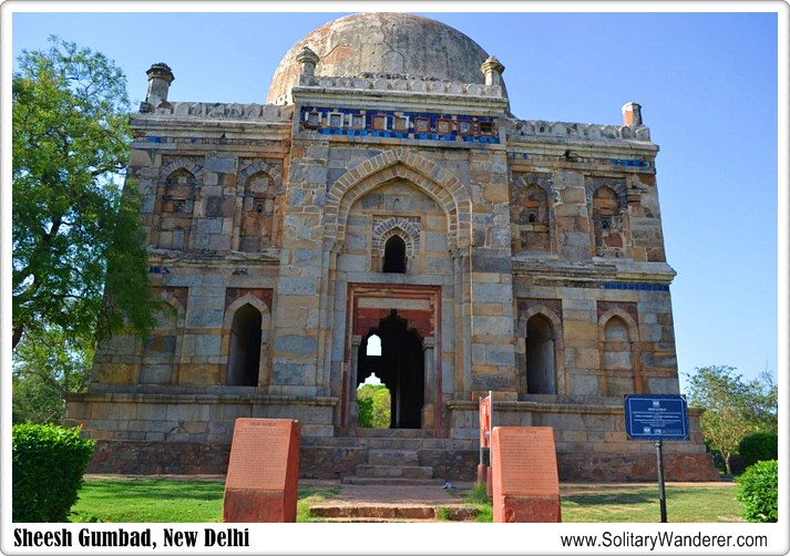 Sheesh Gumbad in the Lodhi Gardens  New Delhi One of the first places I had visited in New Delhi was the Lodhi Gardens  a beautiful park in Delhi  India that has a lot of tombs and other architectural