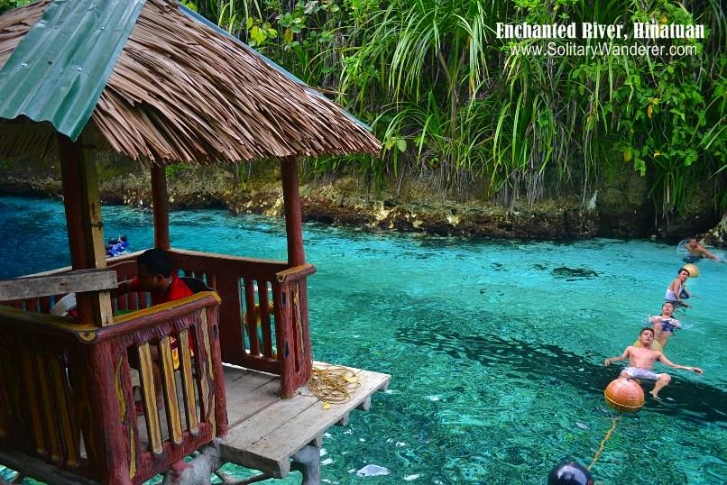 enchanted river hinatuan