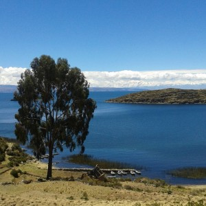 Lake Titicaca the largest lake in South America lies onhellip