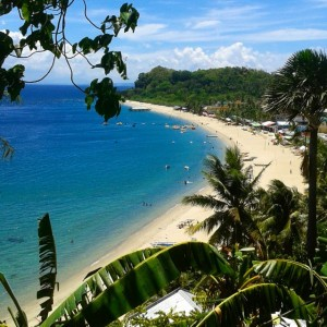 The beautiful bay of Puerto Galera looks tranquil in thehellip