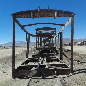 The train cemetery in Uyuni is a haunting place tohellip