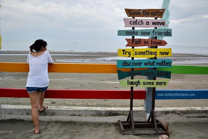 Baybay Beach across the Grand Gazebo.