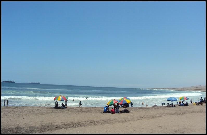 Beach in Arequipa.