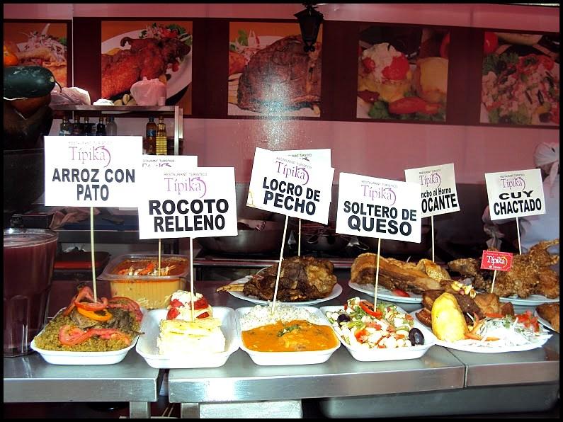 food arequipa
