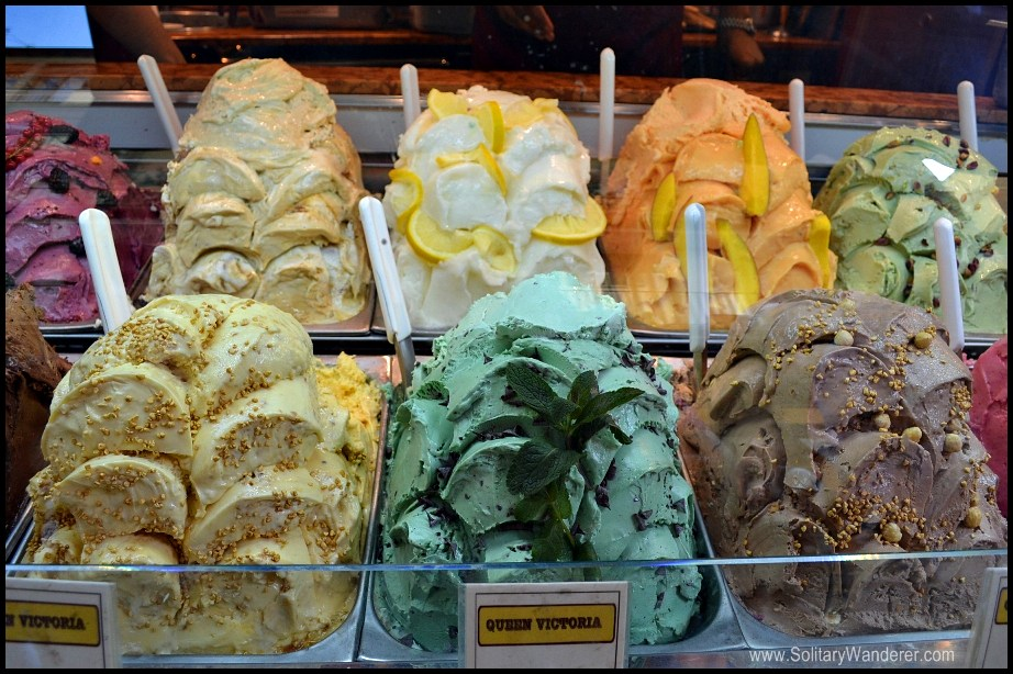 The best gelato I've ever had was in Florence.