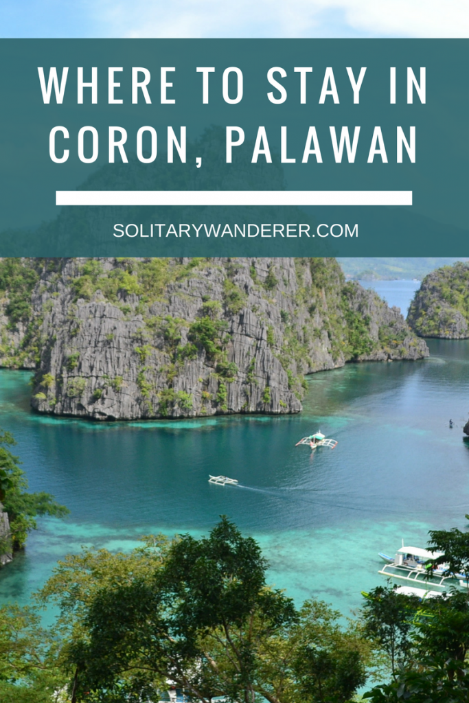Where to Stay in Coron, Palawan -- SolitaryWanderer.com