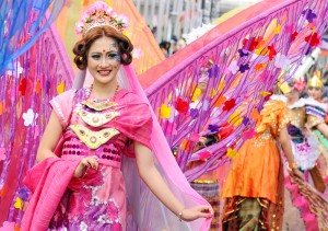 Bandung Holds Asian African Carnival