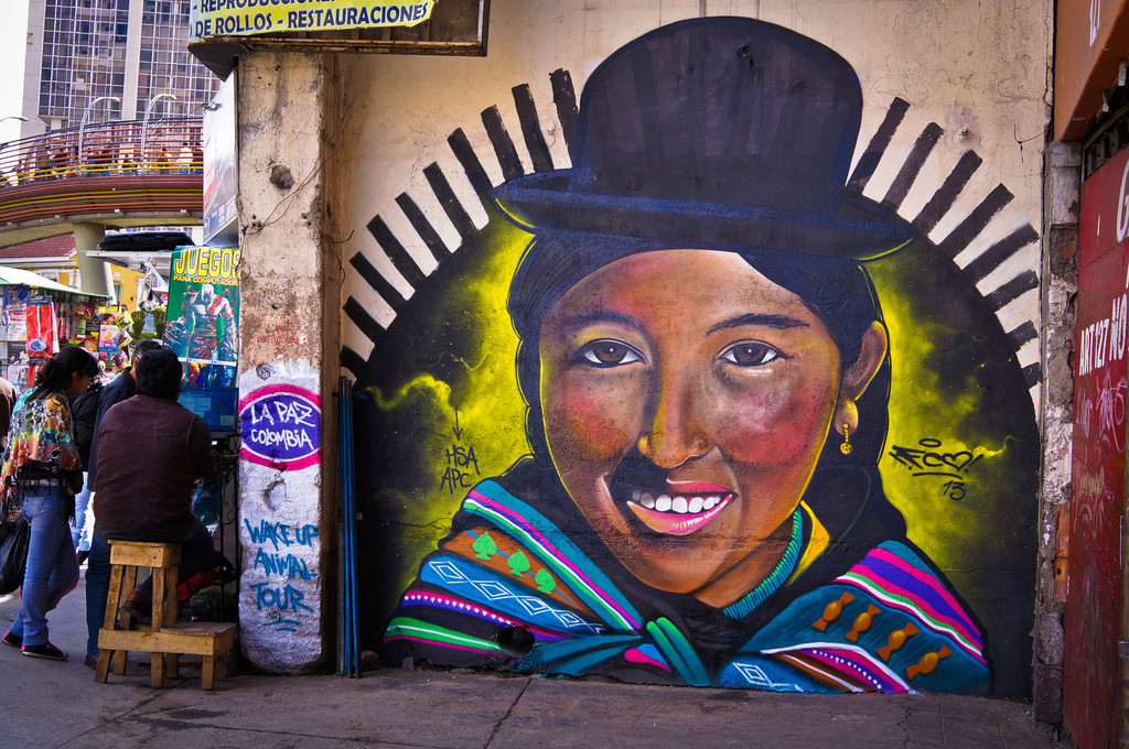 street art in South America