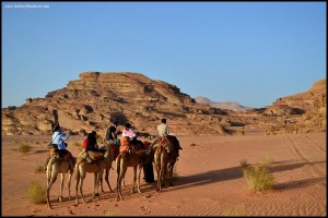 Sunset in Wadi Rum: A Wonder to Behold