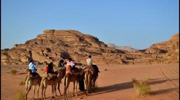 wadi rum camel tour