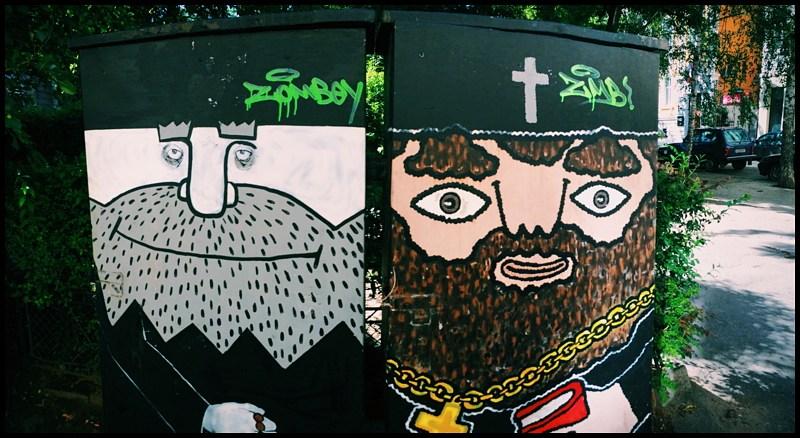 Sofia, Bulgaria street art