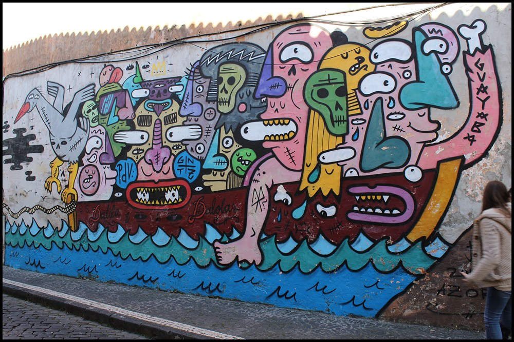 azores street art