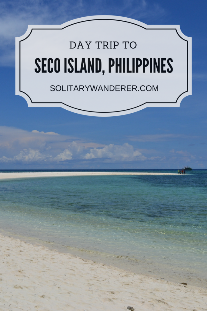 day trip to seco island, philippines