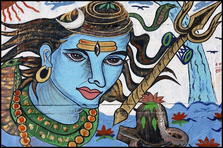 Street Art Varanasi India