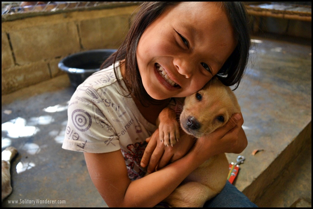 child thai animal sanctuary