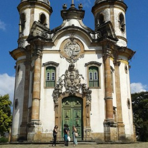 The Church of St Francis de Assisi in Ouro Pretohellip