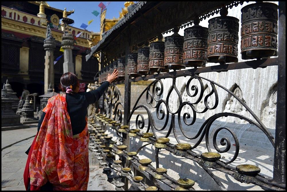 prayer wheel kathmandu